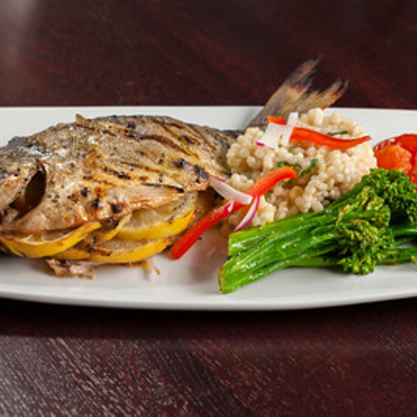 Sea Bream Whole Fish - West Park Bistro, San Carlos, CA