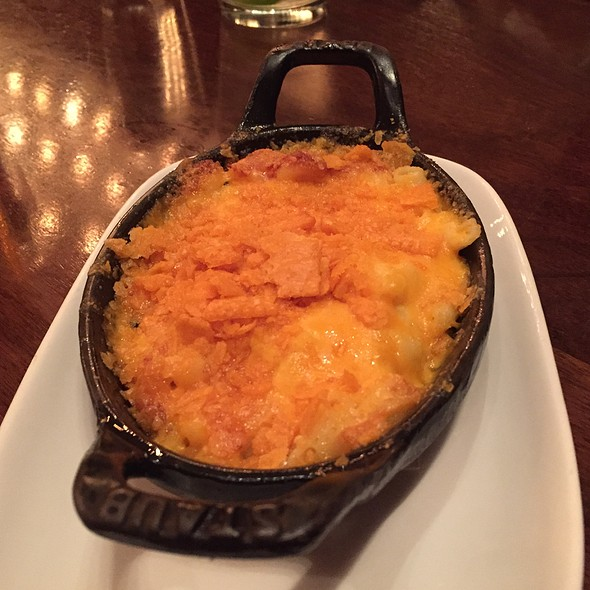 Smoked Cheddar Mac & Cheese - Cook Hall - Dallas, Dallas, TX
