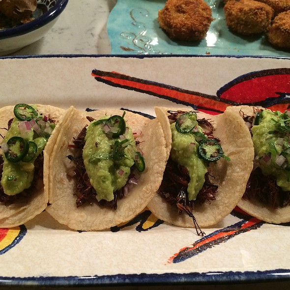Chapulines (grasshopper tacos) - Toloache - Upper East Side, New York, NY