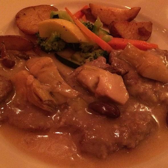 Veal Carpaccio - BV Tuscany Italian Restaurant, Teaneck, NJ