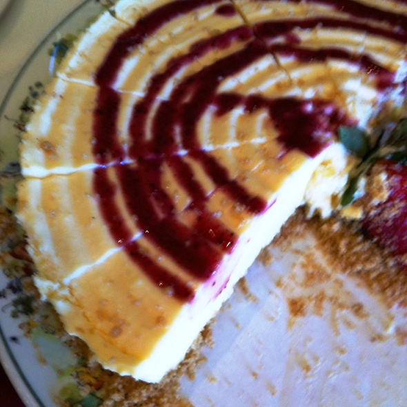 Raspberry Cheesecake - Malcolm's Bar & Grill at LPGA International, Daytona Beach, FL