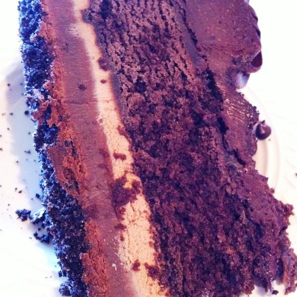 Death by Chocolate Cake - Malcolm's Bar & Grill at LPGA International, Daytona Beach, FL