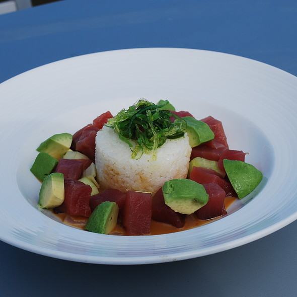 Tuna Poke - Charleston Harbor Fish House - Charleston Harbor Resort & Marina, Mount Pleasant, SC