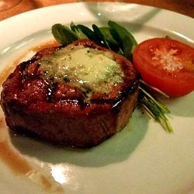 Gorgonzola Beef Tournedo Steak - Motor Supply Company Bistro, Columbia, SC