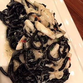 Squid Ink Tagliolini Blue Crab - Domenica, New Orleans, LA