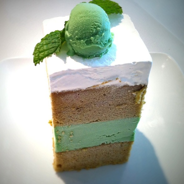 Green Tea Ice Cream Cake - Asian Mint | Forest Lane, Dallas, TX
