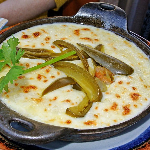 Queso Fundido - Agave Mexican Bistro, Mountain View, CA