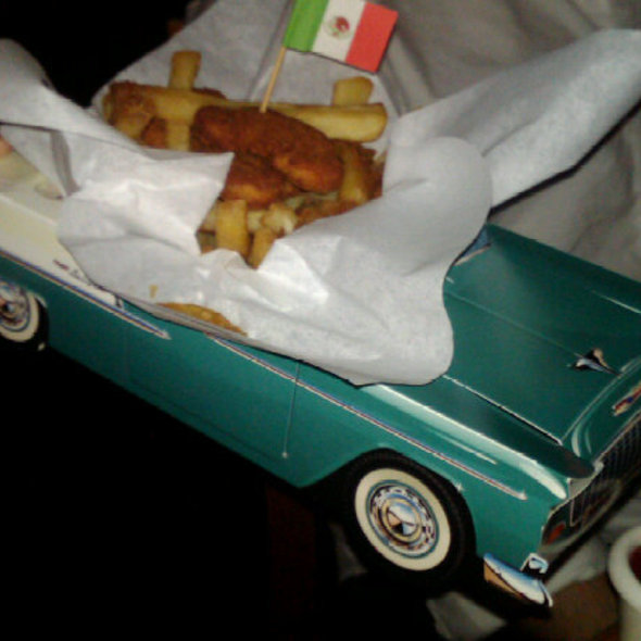 Chicken Nuggets & French Fries - Baja Cantina - Marina del Rey, Marina Del Rey, CA