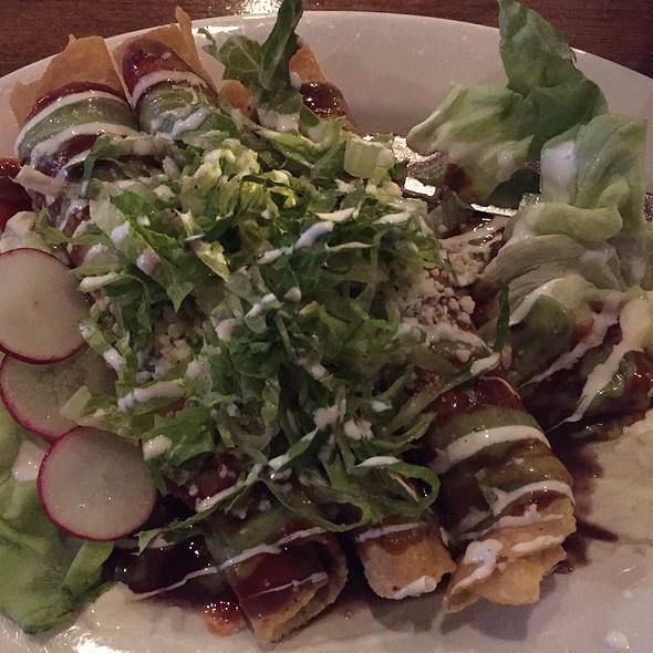 Tacos dorados de pollo - La Cocina Oaxaquena, Seattle, WA