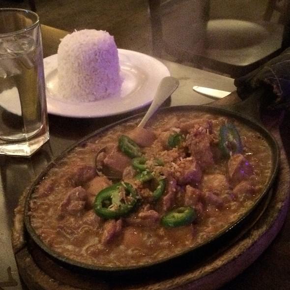 Sizzling Spicy Chicken Adobo - Ugly Kitchen, New York, NY