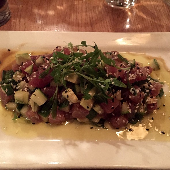 Ahi Tuna Poke - The Fishery, San Diego, CA
