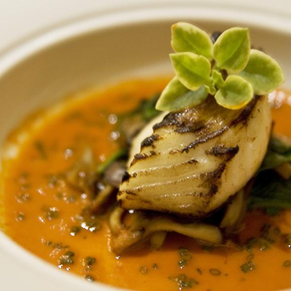 Miso Marinated Mero - Carillon Restaurant, Austin, TX