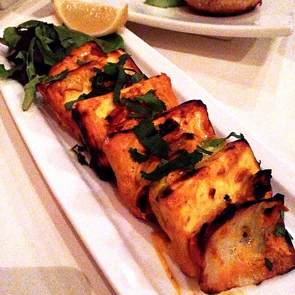 Paneer tikka - Nirvana, New York, NY