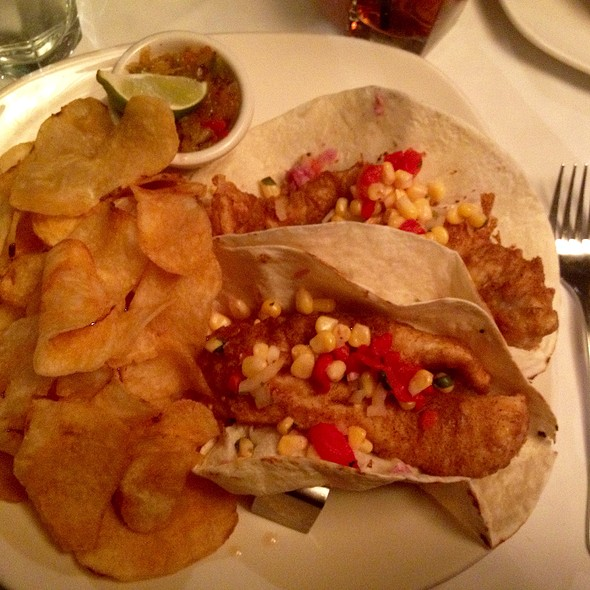 Beer Battered Pickerel Tacos - Hermanos Restaurant, Winnipeg, MB