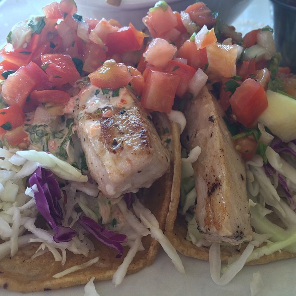 fish tacos - The Edgewater Grill, San Diego, CA