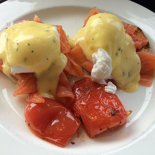 Salmon Benedict - Cafe Dupont, Washington, DC