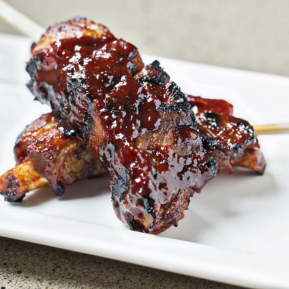 butakalbi kushiyaki: pork short ribs w/ spicy bulgogi sauce   - Perrys, Washington, DC
