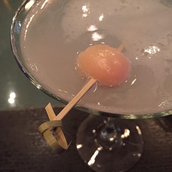 Lychee Martini - BlueFin Japanese Restaurant, San Jose, CA