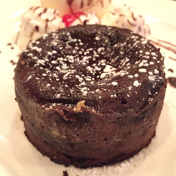 Chocolate Cake - BlueFin Japanese Restaurant, San Jose, CA