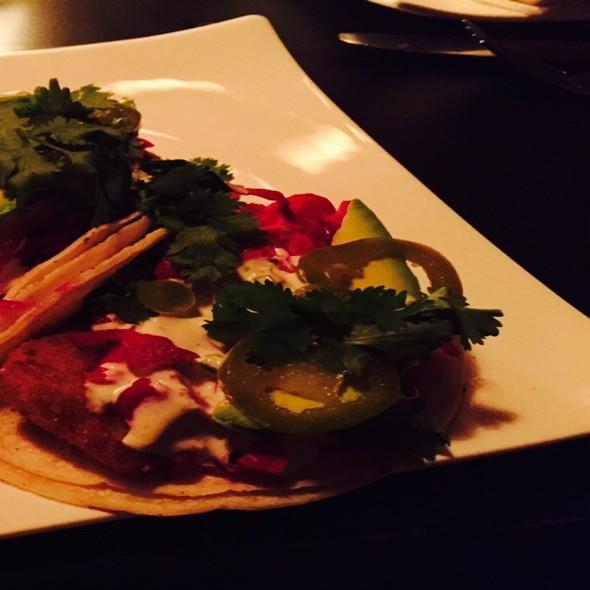 fish tacos - Sojourn Restaurant, New York, NY