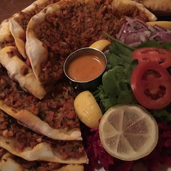 Turkish Lamb Pizza - Bosphorous Turkish Cuisine - Winter Park, Winter Park, FL