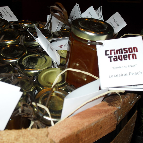 """Lakeside Peach"" for Taste of The Nation - Crimson Tavern at Orlando Airport Marriott, Orlando, FL"