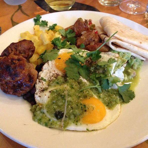 Huevos rancheros - Kaya, Pittsburgh, PA