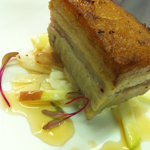 Pork Belly Confit - Simms Steakhouse, Golden, CO