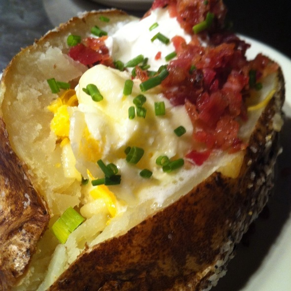 loaded baked potato - Simms Steakhouse, Golden, CO