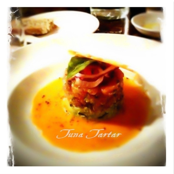 Tuna Tartare - Aurora Soho, New York, NY