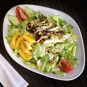 Curry Chicken Salad - Grand Cafe @ Omni Los Angeles, Los Angeles, CA