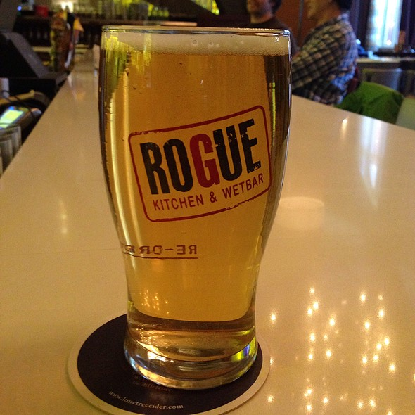 Bc Session Ale - Rogue Kitchen & Wetbar, Vancouver, BC