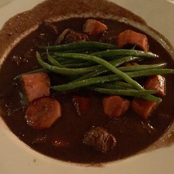 Belgian Beef Stew - Zin American Bistro, Palm Springs, CA