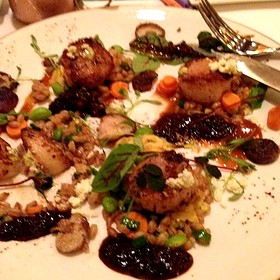 Grilled Diver Scallops - Motor Supply Company Bistro, Columbia, SC