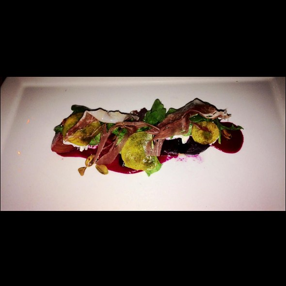 Beet Salad - Lola - A Michael Symon Restaurant, Cleveland, OH