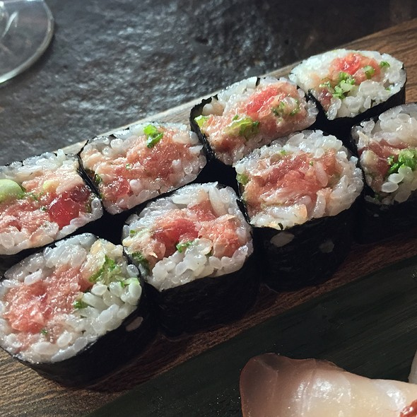 Negitoro Maki - Katsuya- South Beach, Miami Beach, FL