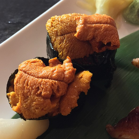 Uni Nigiri - Katsuya- South Beach, Miami Beach, FL