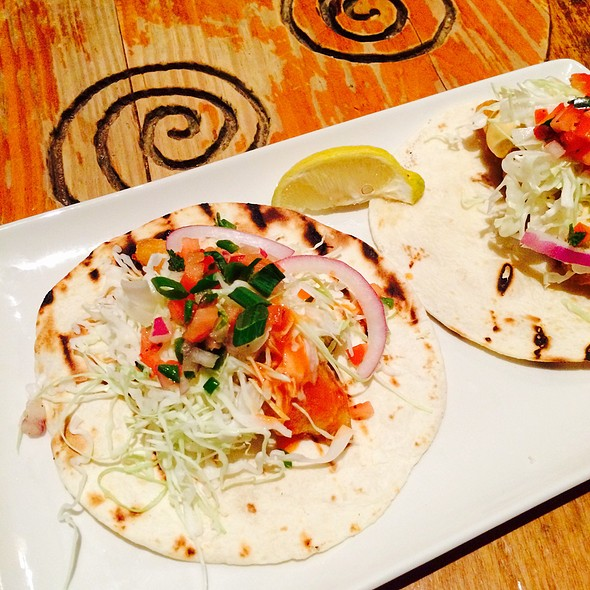 Fish Tacos (Happy Hour Menu) - Fadó Irish Pub & Restaurant - Seattle, Seattle, WA