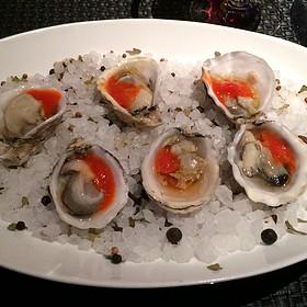 Vancouver Island Kushi Oyster - Sage - Aria, Las Vegas, NV