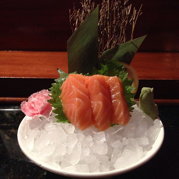 Salmon Sashimi - Kubo's Sushi Bar & Grill, Houston, TX