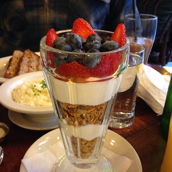 yogurt parfait - The Smith - Midtown, New York, NY