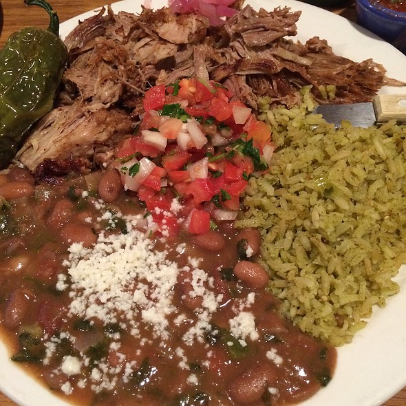 Carnitas Plate - SOUTH, Leavenworth, WA