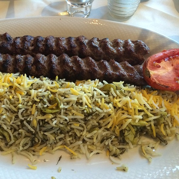Koobideh With Baghali Polo - Yekta Kabobi Restaurant, Rockville, MD