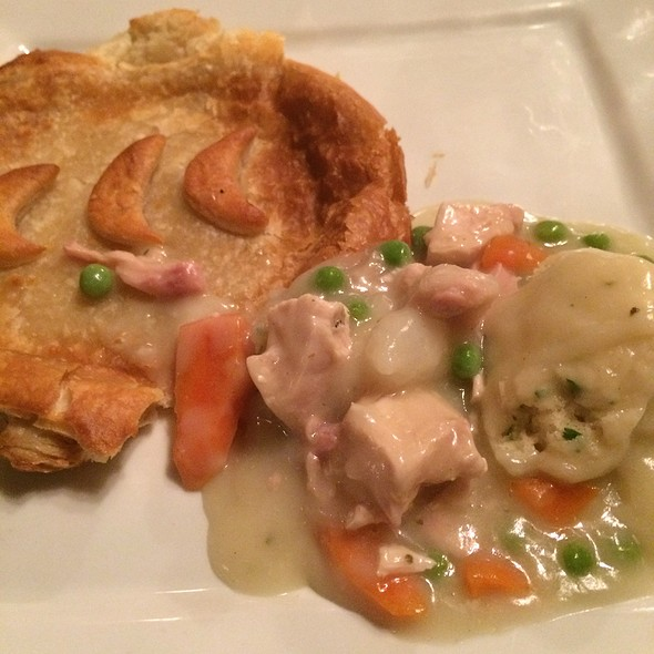 Inside the chicken pot pie - Ram's Head Inn, Galloway, NJ