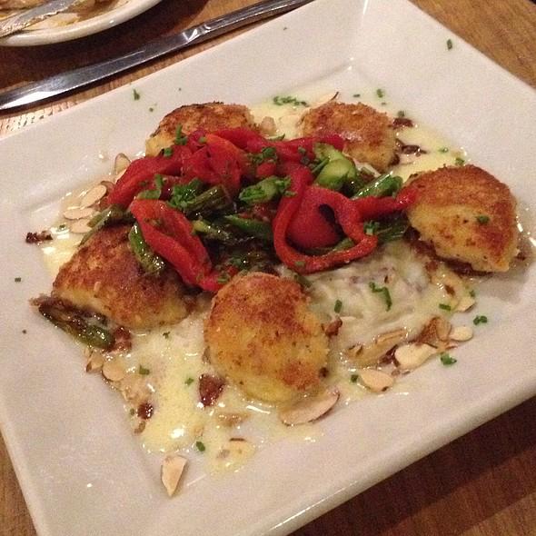Almond-Crusted Scallops - Scott's Bar & Grill, Edmonds, WA