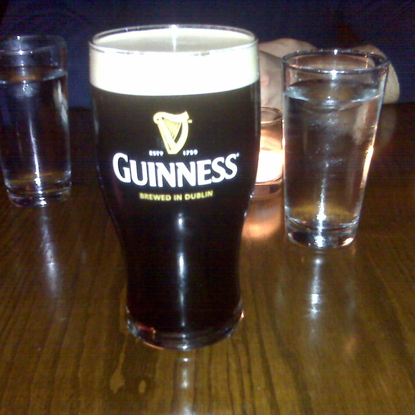 Guinness Draught - Bailey Restaurant and Bar, New York, NY