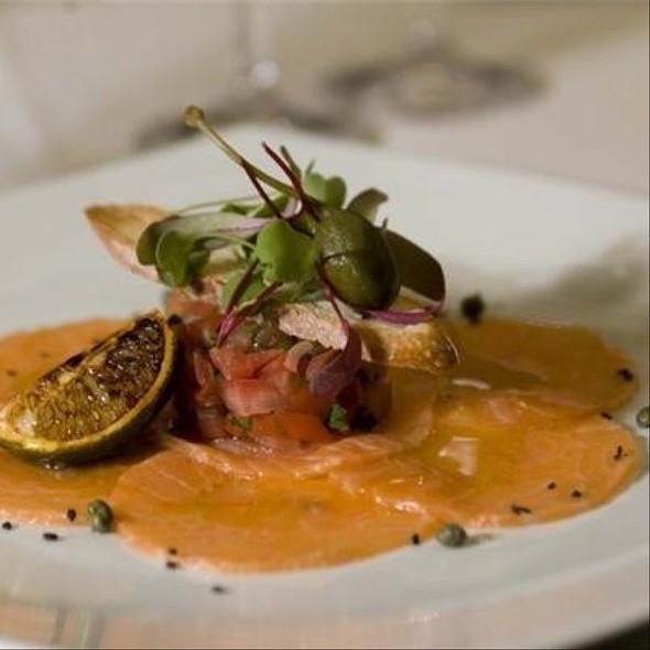 Salmon Carpacio - Da Vinci Ristorante, Montréal, QC