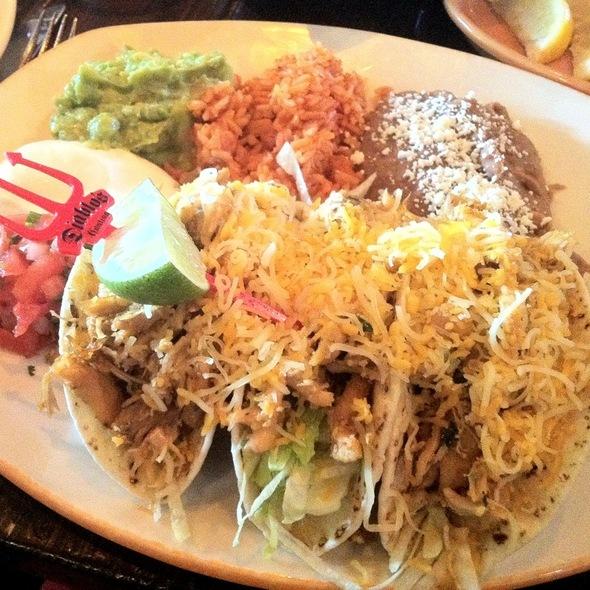Jalapeño Chicken Tacos - Diablo's Cantina - Monte Carlo, Las Vegas, NV