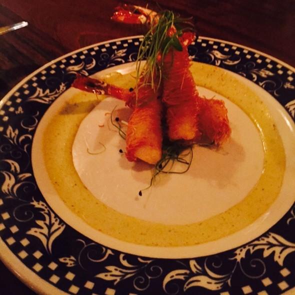 Kadaif Wrapped Shrimp - Miriam, Brooklyn, NY