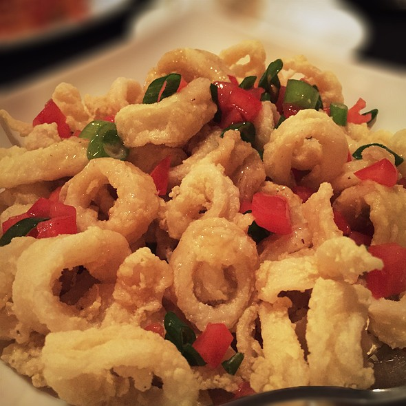 Fried Calamari With Ginger - Paisano's, Rutherford, NJ